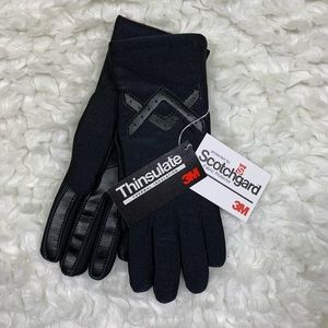 Thinsulate black NWT mittens size M/L